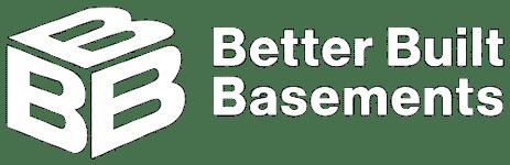Better Built Basements - Logo White